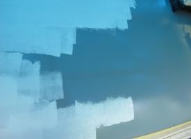 Podkład epoksydowy lightprimer Sea-Line - malujemy warstwę przekładkową (1)