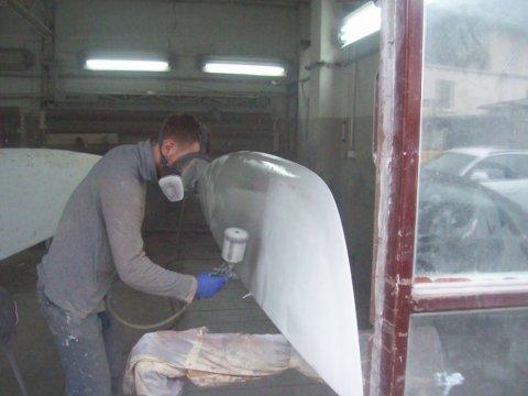 Zabezpieczenie części podwodnej laminatów przed osmozą