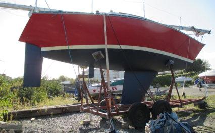 Relacja z remontu jachtu Traper 300