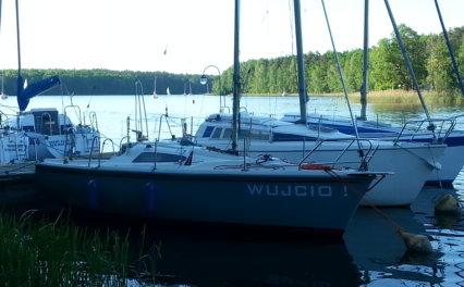 Remont jachtu Sportina 680