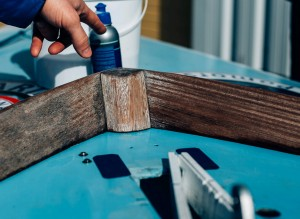 c4 czyszczenie drewna